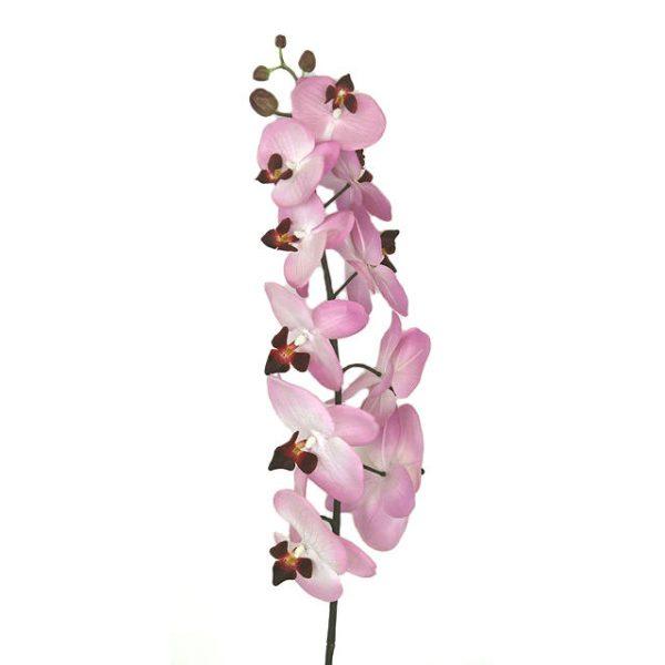 Kunstig orchide phalaenopsis lys lilla 100cm