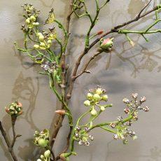 Kunstig glitter gren kobber 100cm *SALG