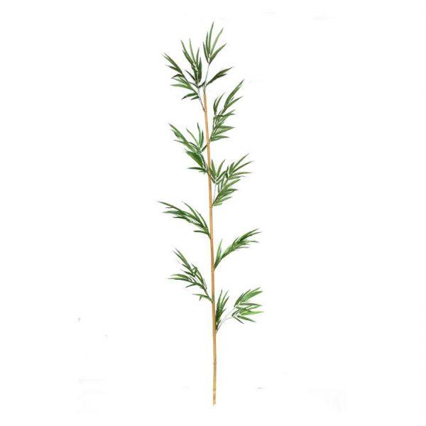 Bambusrør med blader H240cm *SALG