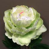 Kunstig peon lys grønn Ø16x81cm