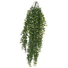 Kunstig podocarpus hengeplante L85cm u/potte