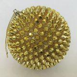 Julekule nagle gull m/tråd Ø12cm *SALG