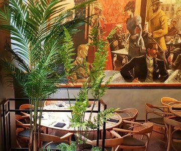 Grand Cafe. Oppdragsgiver: Radius Design.