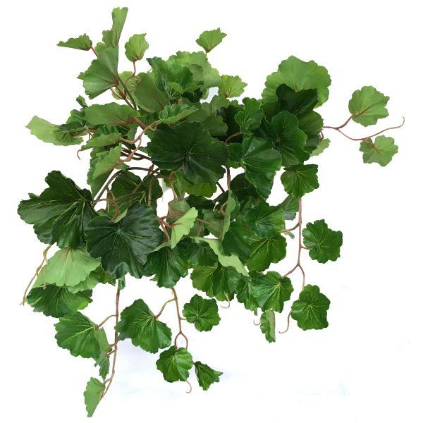 Kunstig geranium plante UV L53cm u/potte