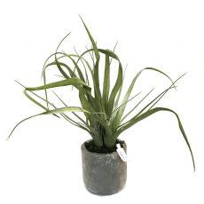 Kunstig agave plante bracteosa H45cm m/potte