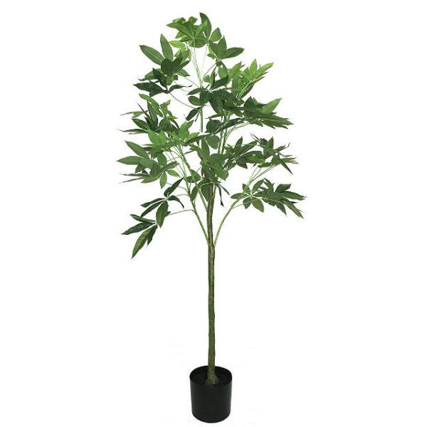 Kunstig pachira plante H150cm