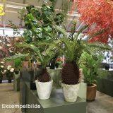 Kunstig palme ananas H120cm m/potte