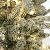 Kunstig juletre snø 180cm m/lys *SALG