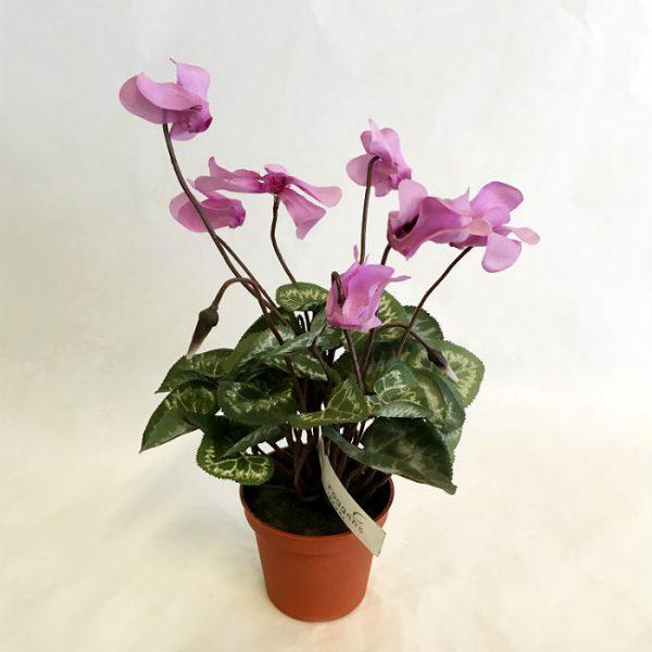 Kunstig alpefiol mini lilla/rosa 26cm *SALG