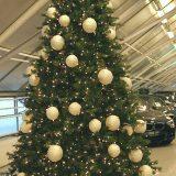 Julekule garnball m/tråd creme Ø12cm *SALG
