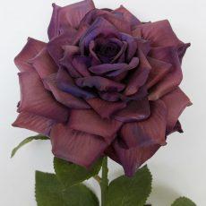 Kunstig rose Frida lilla 45cm *SALG