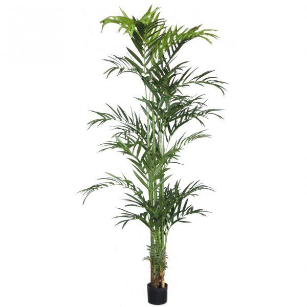 Kunstig palme kentia m/bananbark H240cm *SALG