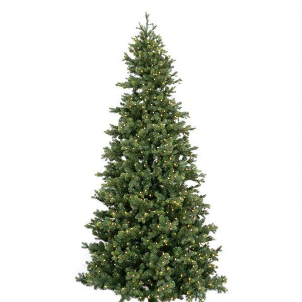 Kunstig juletre Archibald spruce H460cm m/lys ute/inne