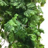Kunstig villvin hengeplante grønn 180cm u/potte