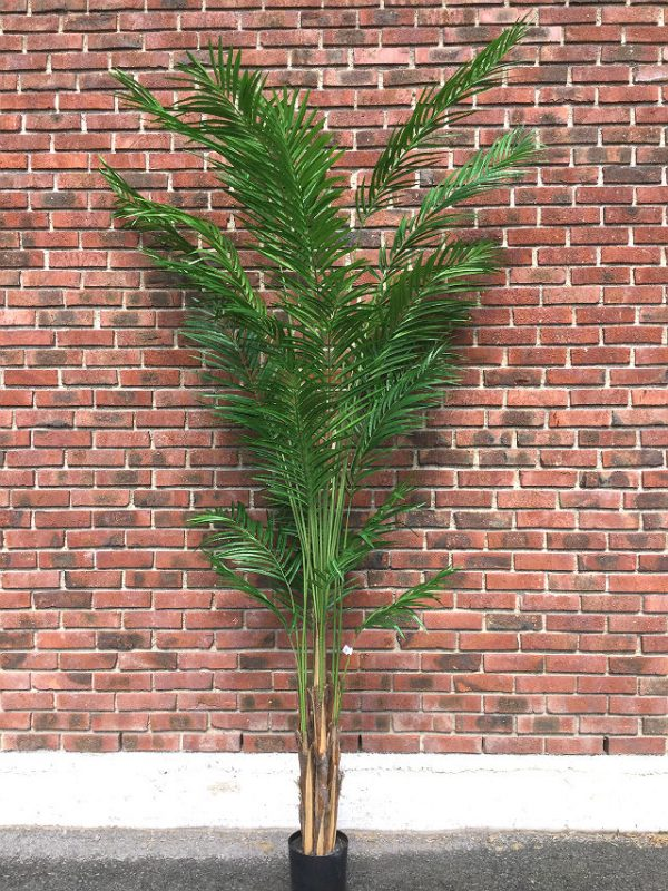 Kunstig palme areca feather H270cm