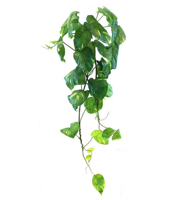 Kunstig gullranke hengeplante storbladet 120cm u/potte