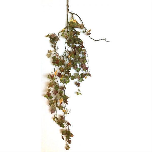 Kunstig eføy hengeplante gylden 160cm u/potte *SALG