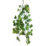Kunstig eføy hengeplante grønn 87cm u/potte *SALG
