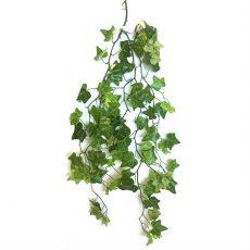 Kunstig eføy hengeplante grønn 87cm u/potte