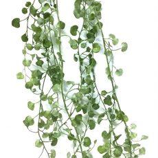 Kunstig girlander silverfall grå/grønn L180cm