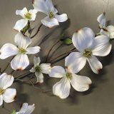 Kunstig gren cornus florida hvit 75cm *SALG