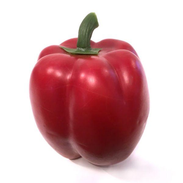 Kunstig paprika rød Ø8xH10cm