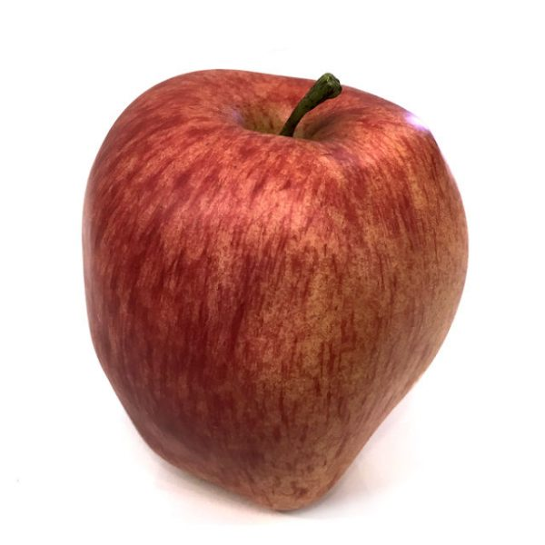 Kunstig eple pink lady Ø8xH9cm *SALG