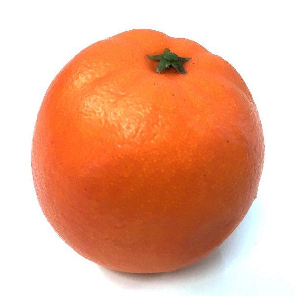 Kunstig appelsin orange 8cm *SALG