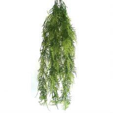 Kunstig plumosus hengeplante bregne 85cm u/potte