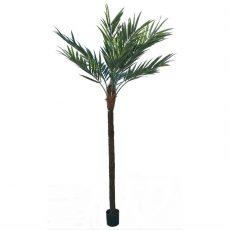 Kunstig palme coco naturstamme UV H300cm