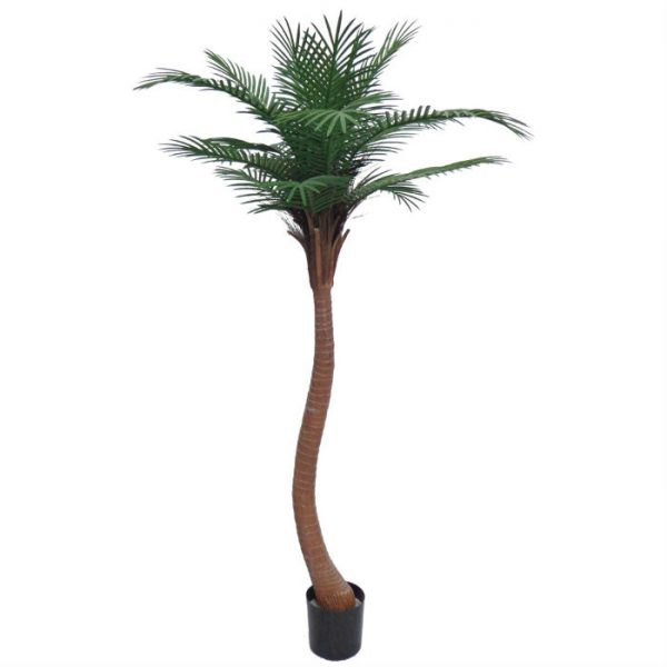 Kunstig palme coco sving UV H200cm