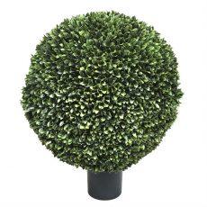 Kunstig podocarpus kule UTE Ø70cm