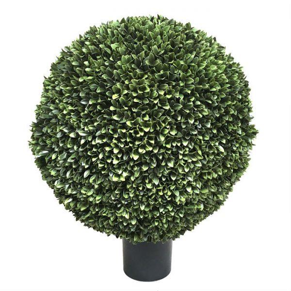 Kunstig podocarpus kule UV Ø70cm