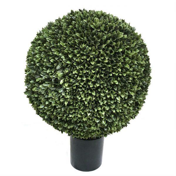 Kunstig podocarpus kule UV Ø60cm