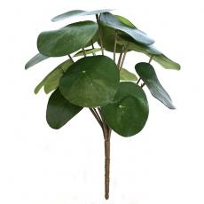 Kunstig peperomia plante H25cm u/potte