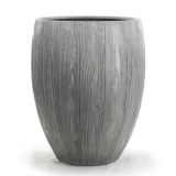 Potte wood poly grå Ø68xH85cm *SALG