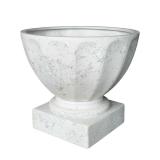 Potte trofe poly hvit Ø69xH61cm *SALG