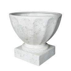 Potte trofe poly hvit Ø60xH53cm *SALG