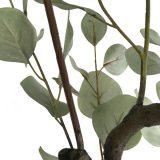 Kunstig eucalyptustre grågrønn H120cm