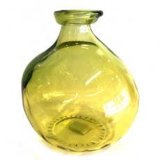 Glassvase oker H18cm