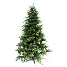 Kunstig juletre Geneva Spruce H195cm m/lys ute/inne
