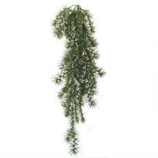 Kunstig springeri hengeplante grønn 80cm u/potte