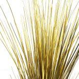 Kunstig gress dekor stående gull H90cm u/potte *SALG