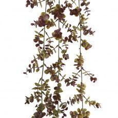 Kunstig eucalyptus hengeplante høst 160cm u/potte