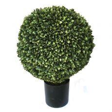 Kunstig podocarpus kule UV Ø45cm