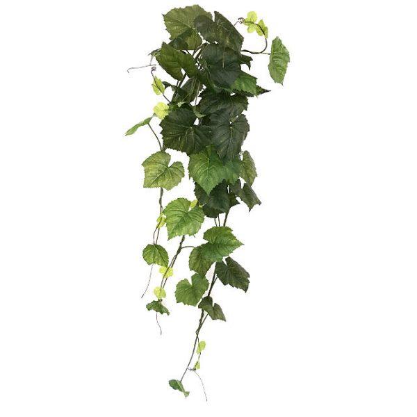Kunstig villvin hengeplante XL 140cm u/potte