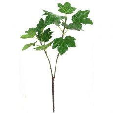 Kunstig okra gren grønn UV 139cm