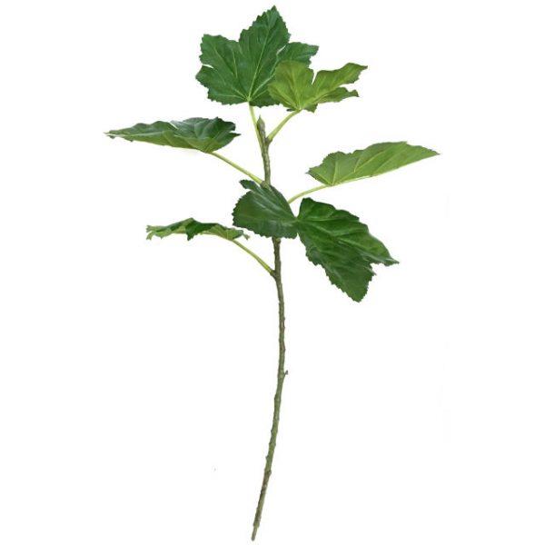 Kunstig okra gren grønn UV 96cm