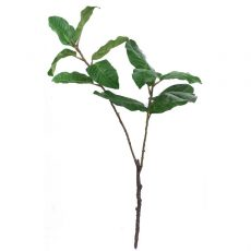 Kunstig fikus gren storbladet UV 139cm
