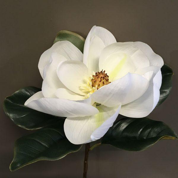Kunstig magnolia gigant hvit Ø23x78cm